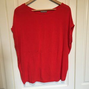 Loose flowing ZARA W&B Collection tshirt Medium
